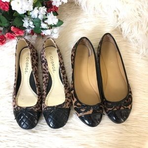 Nine West | George Animal Print Flat (Bundle of 2)